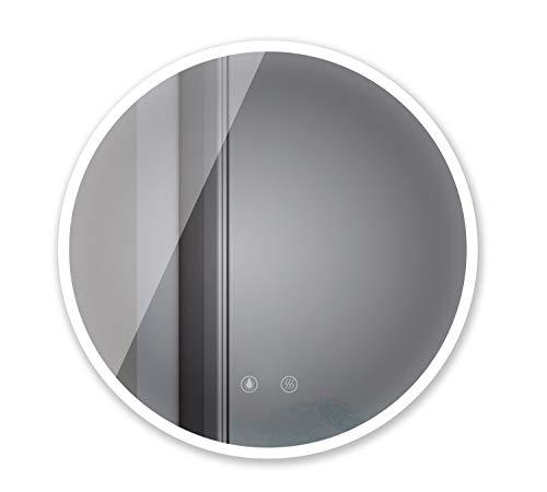 Sogoo 21W Circular 60cm ∅ espejo redondo pared cuarto