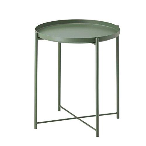 Life tavolino da caffè creativo, tavolino rotondo tavolino da pranzo piccolo tavolo da computer scrivania 45 * 45 * 53cm
