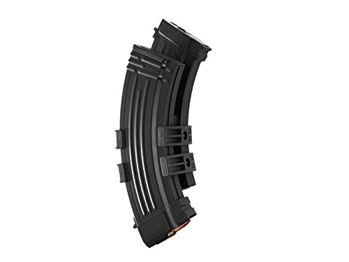 Battleaxe Softair/Airsoft AK 47 Metall Elektro Dual Highcap Magazin (1200 BBs) - schwarz