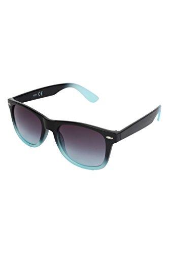 William Cooper Unisex Wafarer Black and Light Green Sunglasses (WCX-4301-C2)