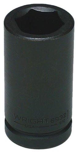 Wright Werkzeug 69401-1/4-Zoll mit 3/4-Zoll-Antrieb 6Point Deep Impact Socket -