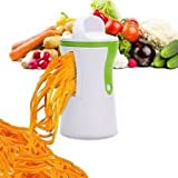Best Vegetable Spiralizer - Heavy Duty Kitchen Spiralizer for Vegetable Noodles & Julienne Spirals   Create Healthy, Carb-Free, Paleo, Gluten-Free, Delicious Dishes!