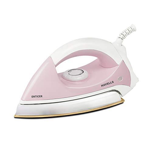 Havells Enticer 1000-Watt Dry Iron (Pink)