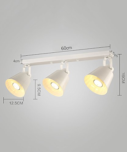 Spotlights à LED Spotlight Retro COB Track Lights Ceiling Lights spotlights ( Couleur : Blanc , taille : C )