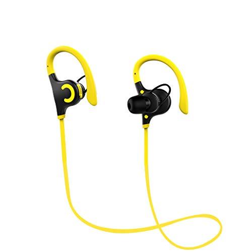 OPAKY Ultradünner Bass CSR IPX4 Wasserdichter Hals Bluetooth 4.1 Outdoor-Sportkopfhörer,für iPhone, iPad, Samsung, Huawei,Tablet usw.