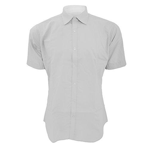 Kustom Kit - Chemise coupe cintrée à manches courtes - Homme Blanc