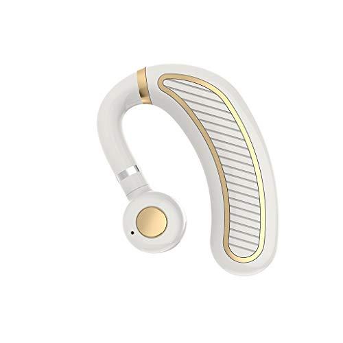 Clode  Sweatproof auricolare Bluetooth senza fili cuffia stereo auricolare sport handfree (A)