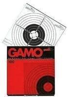 Gamo carabine à Air comprimé / Pistolet / pistolet bullseye cibles plombs - set 100. Standard 14cm carré taille (Aussi voir nos assortiment ciblé set)