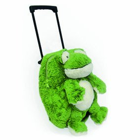 Intelex Novelty Childrens Luggage Frog