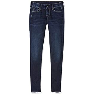 Pepe Jeans Damen Jeans Soho, Denim (10OZ Dark Used Worn), 32W / 30L