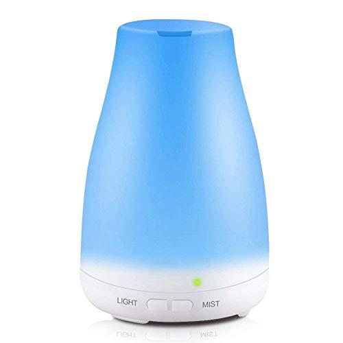 Preisvergleich Produktbild Luftbefeuchter ÖL Duft Luftbefeuchter 100Ml LED 7 Farben Yoga Salon Spa Leben,  Schlafzimmer,  Bad Oder Kindergarten Hotel
