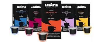400 capsule caffè Lavazza compatibili NESPRESSO mix 4 gusti 100 capsule per tipo + TAZZA personalizzata Belotti distribution in regalo
