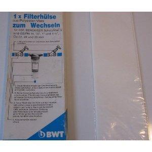"Preisvergleich Produktbild 1x BWT Filterhülse 10999 für: S + GS/PN 16 3/4"" 1"" 1 1/4"" Wasser Filter"