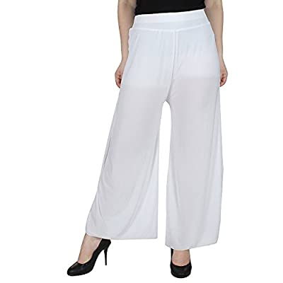 Tara Lifestyle stretchable Designer Plain Casual Wear Palazzo Pant For Women's - Free Size
