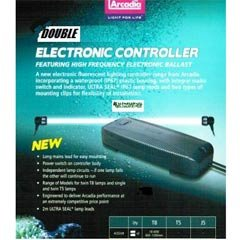 Arcadia Double Tube Light Controller 18-40W by Peregrine