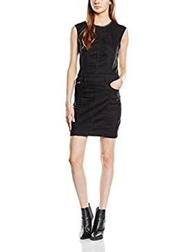 G-STAR RAW Damen Kleid Lynn Jet Slim Zip Dress