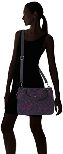 Kipling - Caralisa, Borsa a mano Donna Multicolore (Orchid Bloom Bl)