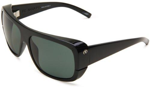 Electric el guapo Sunglasses Gloss Black ~ Grey taglia unica