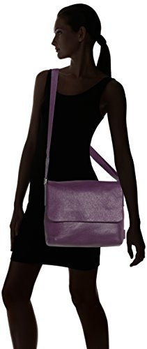 Leonhard Heyden, Jost Adult Vika Shoulder Bag, Sac bandoulière mixte adulte - Noir-V.6, Small baie