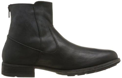Freeman T. Porter Siren, Chaussures montantes homme Noir (Nappa Noir)