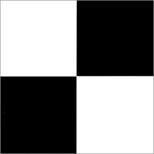 Raphael Rozen Vinyl Bodenfliesen '12von 12Zoll, kariert schwarz und weiß Fliesen, 20Stück (Schwarz-vinyl-fliesen)