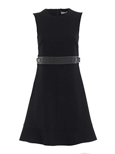 Red Valentino Damen Qr3va7450vm0no Schwarz Polyester Kleid