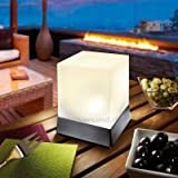 Lámpara solar Cube 3500K blanco neutro, Esotec 102671