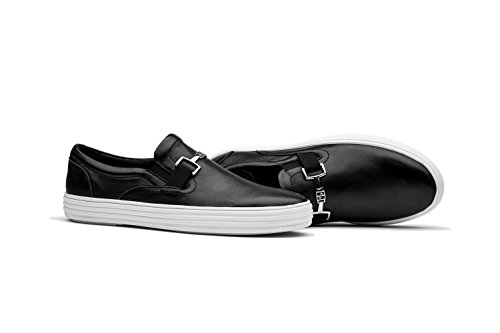 Chaussures Sneakers Basses Homme Taille 39-45 Noir