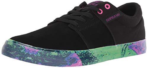 ene Stacks Vulc II Sneaker, Schwarz (Black-Neon Acid 069), 44.5 EU ()