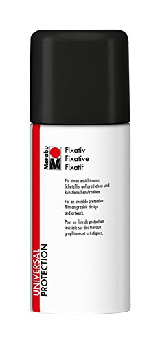 Marabu 220106000 - Fixativ, 150 ml, transparent