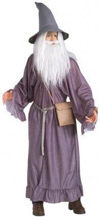 Herr der Ringe - Gandalf Kostüm Erwachsene, 4teilig, günstiges Karneval Kostüm (Herr Der Ringe Smeagol Kostüm)