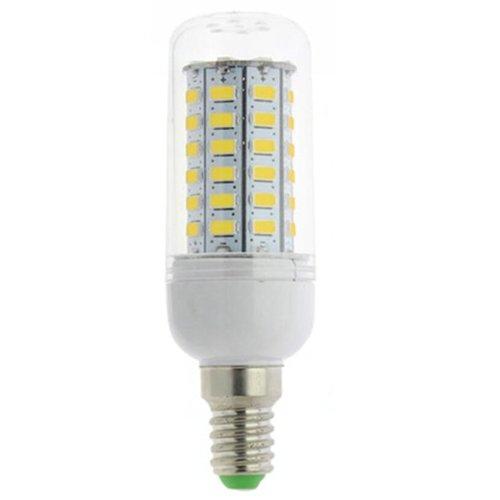 TOOGOO(R) 10Pcs 10W 5730 LED Gluehbirne Birne Mais Licht Leuchtmittel Strahler Lampe E14 warmweiss
