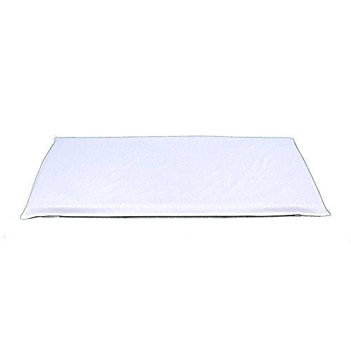 MAT FITTED SHEET WHITE - Mat-board-speicher