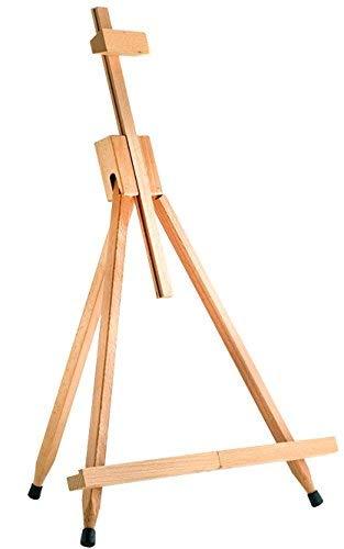 Cavalletto treppiede espositore in legno, da tavolo, pieghevole e portatile, per artisti, 790 mm