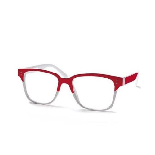 NEW UNISEX (Damen Herren) Brille klare Linse Monaco Protection Morefaz(TM)