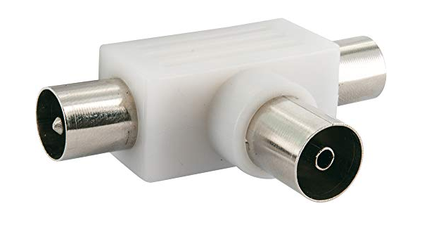 Schwaiger Asv25 532 Aufsteckverteiler 2 Fach Für Elektronik