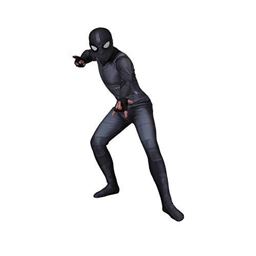 YIWANGO Erwachsener Kind Spiderman Kostüm 3D Digitaldruck Film Prop Costume Spiderman,Adult-S