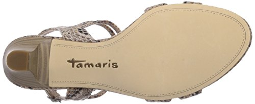 Tamaris 28333 Damen Sandalen Beige (Nature Struct. 320)