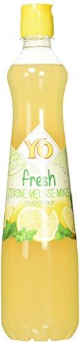 Yo Sirup Fresh Zitrone-Melisse-Minze, 6er Pack (6 x 700 ml)