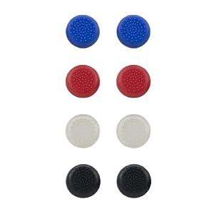 Speedlink STIX Controller Cap Set – Aufsätze für Analog-Sticks der DUALSHOCK-4-Controller der PlayStation 4, mehrfarbig