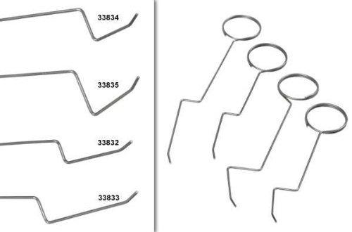 Preisvergleich Produktbild Türfallen-Öffnungsnadel-Set 4-tlg. Öffnungsnadeln