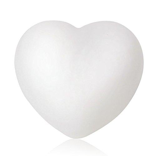 Colore cambiamento amore cuore forma natale notte LED luce partito nozze decorazione Lamp