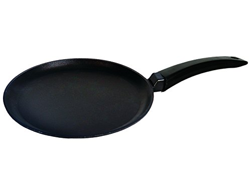 Pancake Crepes Pfanne Griff 20, 24cm antihaftbeschichtet biol, Aluminiumguss, 20 cm