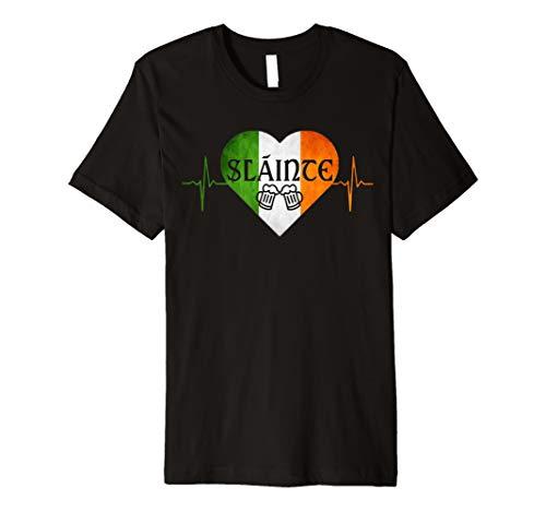 Drinking Heartbeat Slainte shirt