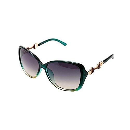 Sonnenbrillen Mode Sonnenbrillen Frauen Tide Anti - UV-Large - Größe Europäische - Amerikanische Sonnenbrille Retro Sonnenbrille Schütze Deine Augen (Farbe : B)