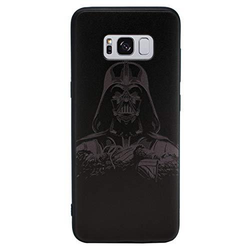 3D Star Wars Telefon Hülle/Case für Samsung Galaxy S7 (G930) mit Displayschutzfolie / Silikon Weiches Gel/TPU / iCHOOSE / Darth Vader