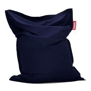 Fatboy® Original Outdoor Sitzsack Navy Blue | Klassische Beanbag für draußen, Sitzkissen in Blau | 180 x 140 cm