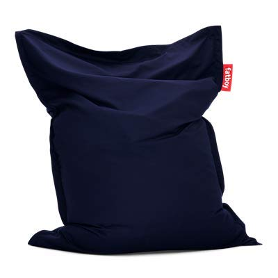 Fatboy Outdoor Sitzsack Navy Blue, Sunbrella-Gewebe, 40 x 140 x 180 cm (LxBxH)