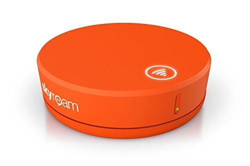 Skyroam Solis: Mobiler WLAN Hotspot & Power Bank // 4G LTE Tragbarer Router für Geschäftsreise und Urlaub // Globale Mobile Daten ohne Roaming // Im Internet ohne SIM-Karte in über 130 Ländern surfen