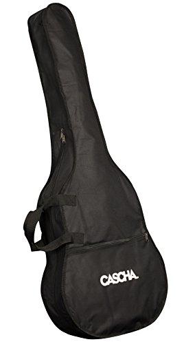 CASCHA Gitarrentasche, Schutz für klassische Gitarren der Größe 4/4, Gitarrenhülle, Guitar/Gig Bag, Rucksackfunktion